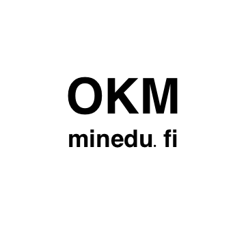 Kuvassa teksti: OKM, minedu.fi